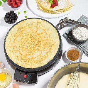 CucinaPro Crepe Maker and Non-Stick 12