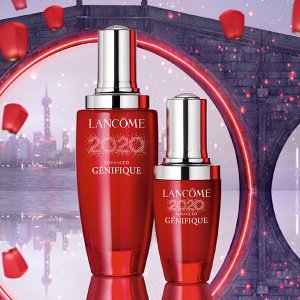 独家:Lancôme 全场美妆大促 196口红也参加  限量圆饼包赠品补货