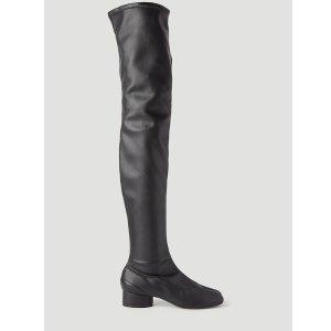Maison MargielaTabi 黑色长靴