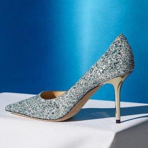 5折 £285起码较全速抢手慢无:Jimmy Choo 毕业典礼、婚鞋首选 Romy亮片鞋热卖