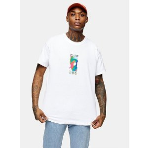 TopmanRave T-Shirt by White