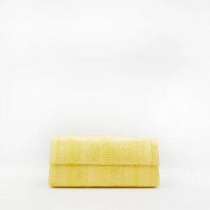 Nancy GonzalezGotham Clutch, Yellow Elaphe