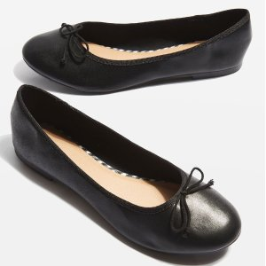 $5VISION Softy Ballet Shoes @ TopShop