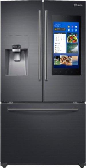 $2499.99Samsung - Family Hub 24.2 Cu. Ft. 3-Door French Door Refrigerator - Fingerprint Resistant Black Stainless Steel @ Best Buy