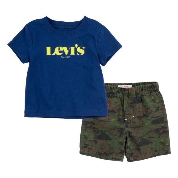 幼童T恤套装