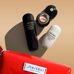 FREE 4-Piece Gift ($103 Value)Shiseido Skincare Gift with Purchase