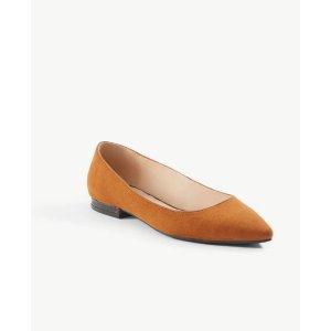 Ann TaylorTortoiseshell Print Heel Flats