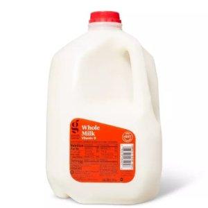 $0.99Target Cheap Grade-A Eggs and Milk