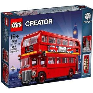 圣诞好礼物:LEGO  Creater 10258 – 伦敦经典双层巴士Londoner Bus