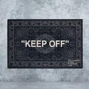 $499收Keep Off地毯新品预告:Off-White X IKEA 联名合作款地毯5月10日开卖