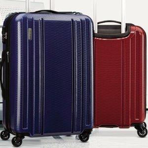 $61.75收登机箱最后一天:新秀丽Carbon 2硬壳行李箱5折大促,满$150额外6.5折