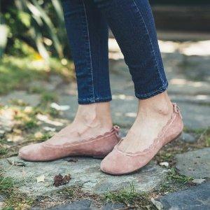 chole平替花瓣鞋花瓣平底鞋