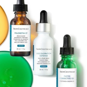 送正装精华(最高价值$190)限今天:SkinCeuticals 修丽可送豪礼 紫米+色修硬核抗衰 祛闭口细纹