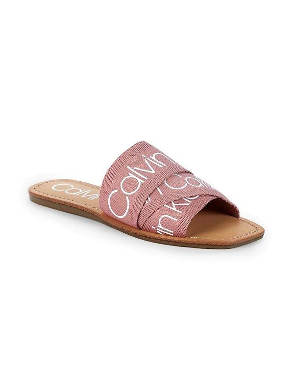 Bainy Logo 拖鞋