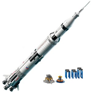 $127.49 (原价$149.99)LEGO 乐高 21309 Saturn Ⅴ 阿波罗计划土星五号运载火箭