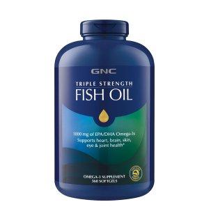 GNCTriple Strength Fish Oil