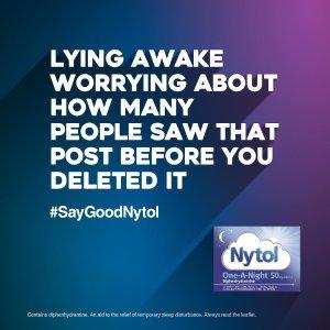 低至45折 £3.99收助眠片Nytol好梦勿打扰  防打鼾神器一觉睡到天亮