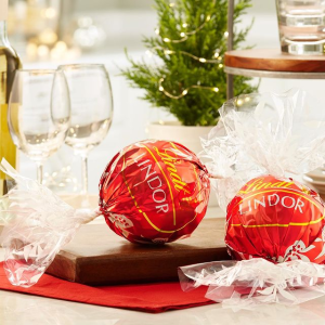 100 Ct for $30Lindt LINDOR Truffles Creat Your Own Mix on Sale