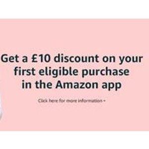 新用户£30立减£10英国亚马逊APP限时满减 7月27日截止 仅限前5K名