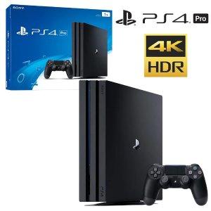 $462 (原价$559)+可退税超值:Sony PlayStation PS4 Pro 1TB 游戏机