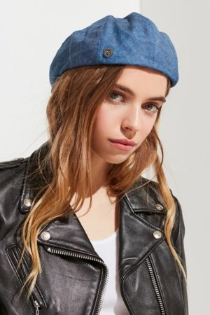 Brixton Hooligan Chambray Hat | Urban Outfitters