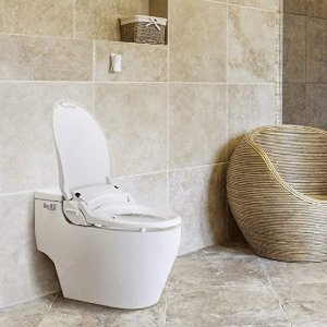 Awe Inspiring Biobidet Bliss Bb2000 Elongated White Bidet Smart Toilet Caraccident5 Cool Chair Designs And Ideas Caraccident5Info
