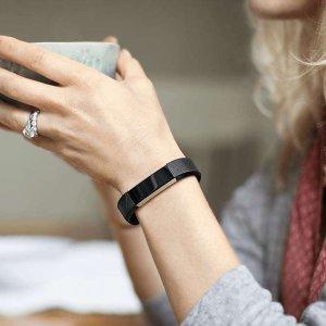 $49.99(原价$129.95)史低价:Fitbit Alta 运动手环 紫色 大号