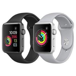 符合条件即可免费更换Apple Watch Series 2 和 Series 3 铝金属表款屏幕更换计划