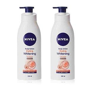 Amazon.com : Nivea Extra Whitening Body Lotion (350 ml) Pack of 2 : Beauty