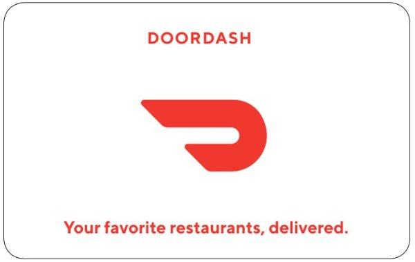 DoorDash电子礼卡