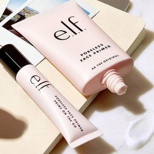 送$5礼卡ELF 美妆产品促销 入定妆喷雾、化妆刷