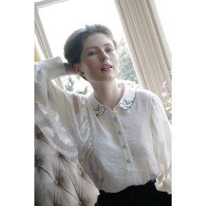 miss patina满£100享85折蕾丝衬衫