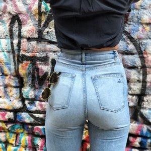 低至4折+额外6折大牌牛仔裤专场,J Brand宽腿裤$34码全