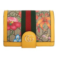 Gucci GG Flora Ophidia 护照夹