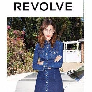 低至5折 INS博主最爱逛的店Revolve 精选女士美衣美鞋热卖