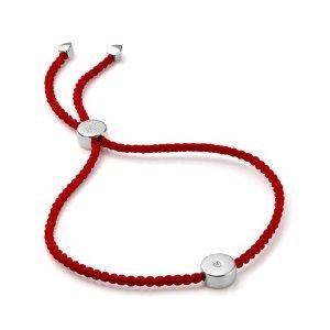 Monica Vinader小钻友谊小红绳
