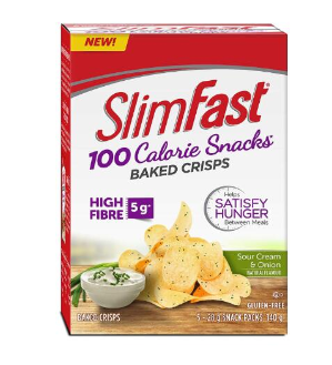 $6.64Slim Fast 100卡路里烤薯片5袋装 贪嘴不怕胖