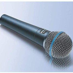 $163.76(原价$219)Shure 舒尔 BETA 58A 动圈人声话筒 在家唱出录音棚的感觉
