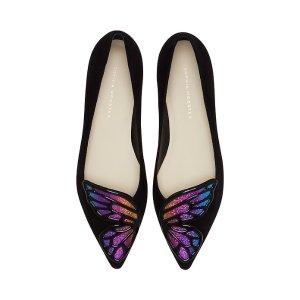 Sophia Webster渐变蝴蝶鞋