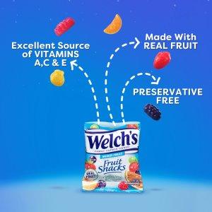 $13.99(原价$23.4)Welch's 加国版 混合水果QQ糖 60粒 无人工添加糖 QQ弹弹