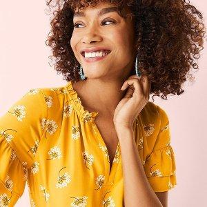 低至3折LOFT Outlet 精选女装优惠