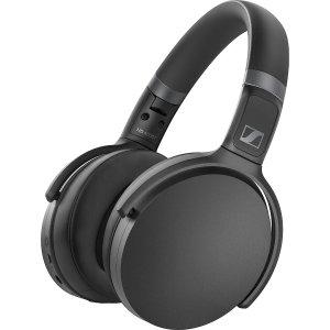 SennheiserBlackHD 450BT Over-ear Wireless Noise Canceling Headphones