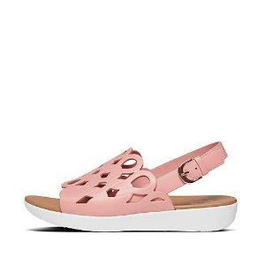 FitFlop粉色凉鞋