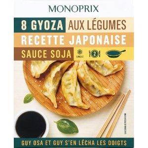 monoprix锅贴饺子
