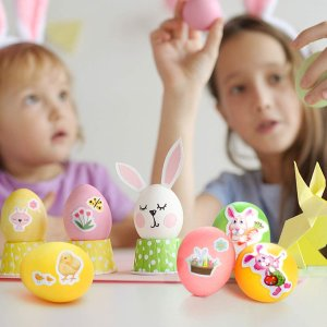 宅家过节也精彩复活节彩蛋DIY大法 在家陪娃做手工 一学就会宅家必备