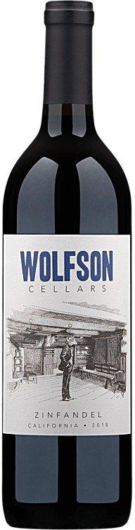 2018 Wolfson Cellars 蓝莓+黑胡椒+樱桃+李子红葡萄酒