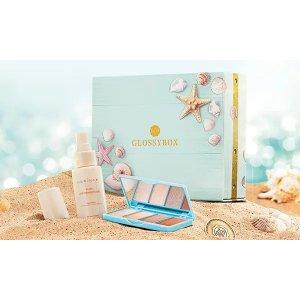 Glossybox单个定€15!定12个月更省!7月美妆盒子