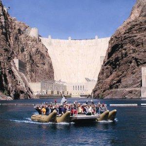 $173起  独特的方式欣赏大峡谷拉斯维加斯胡佛大坝 科罗拉多河汽船漂流体验