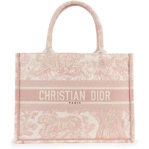 Dior小号粉色 Book Tote