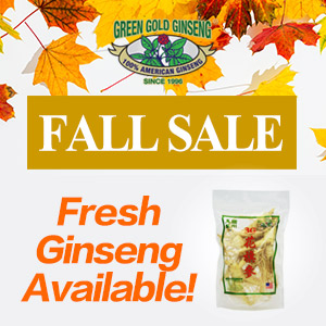 Select products up to buy 2 get 1 free100% Authentic American Wisconsin Ginseng Fall Sale